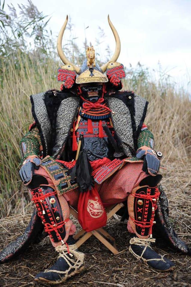 Как сделать доспехи самурая