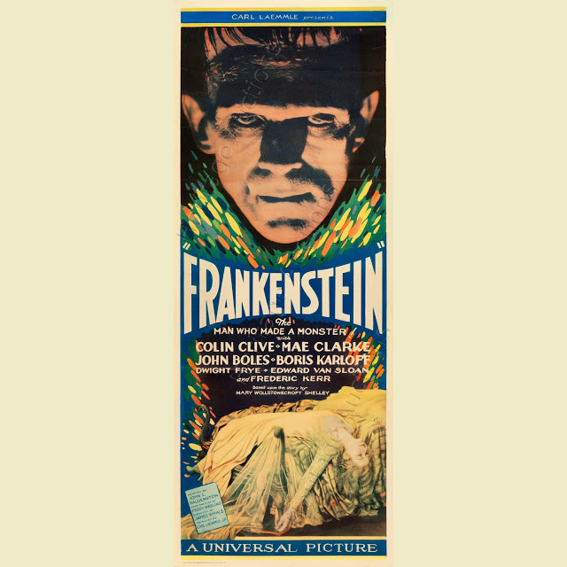 You're not going to believe how much this Frankenstein poster sold for
