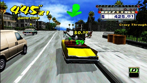Crazy Taxi Port Is Faithful But Wider
