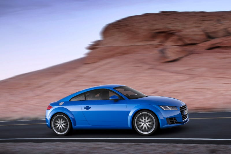 The More I Look At The 2015 Audi TT...