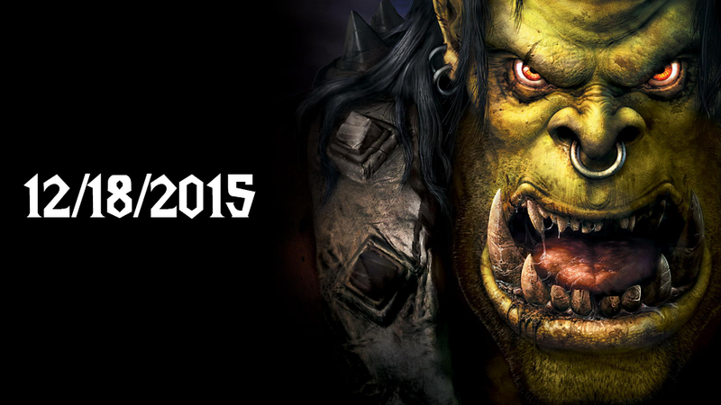 The Warcraft Movie Is Coming Out On December 18, 2015