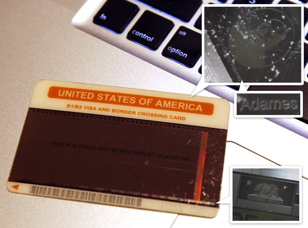 Microscope Reveals the U.S. Government's Tiniest Typo