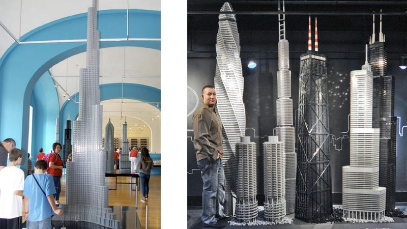 Lego Architecture Exhibit Is Made of 15,500,000 Lego Bricks