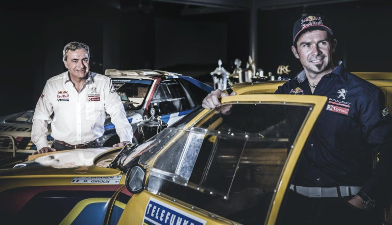 Motorcycling Legend To Drive In Peugeot's Off-Road Return To Dakar