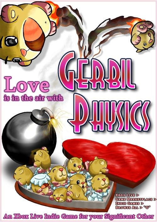 Celebrate Valentine's Day With Gerbil Physics