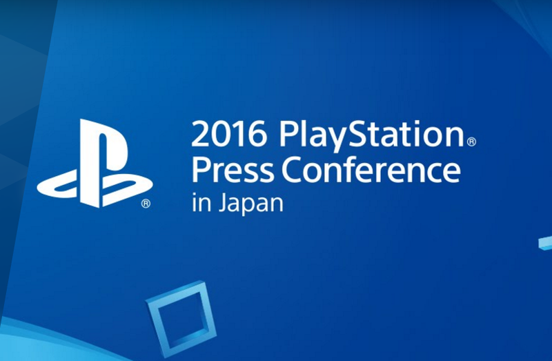 Watch the 2016 PlayStation Japan Press Conference Right Here [Update: It's Over]