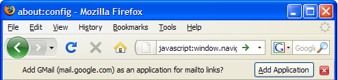 Set Firefox 3 to Launch Gmail for mailto Links