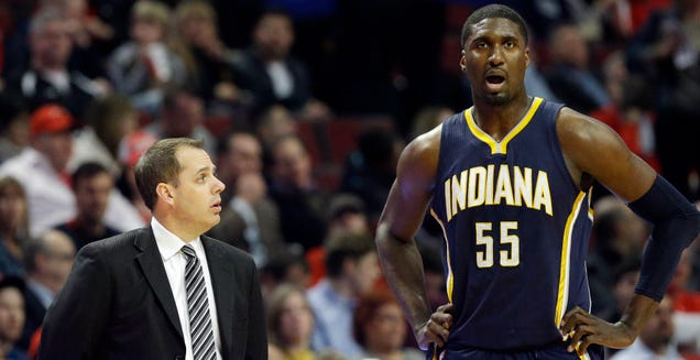 Roy Hibbert And The Indiana PacersAre Headed For A MessyDivor…