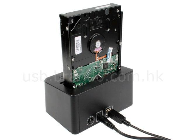 HDD USB Dock Gets USB Hub Integrated, Still Plugs in Like NES Cartridges