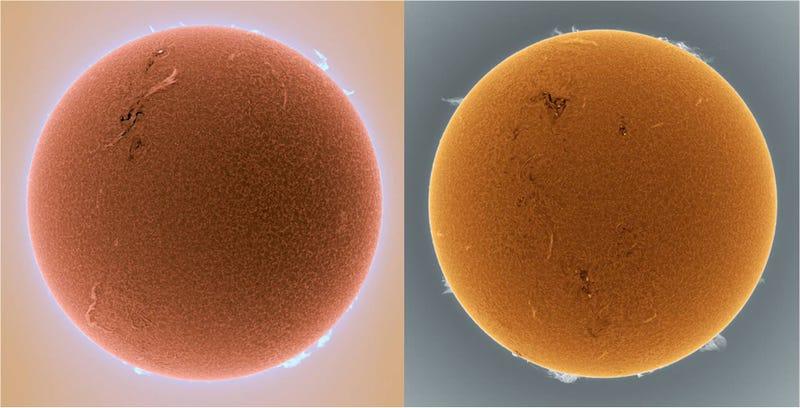 Estas impresionantes fotos del Sol las ha captado un aficionado