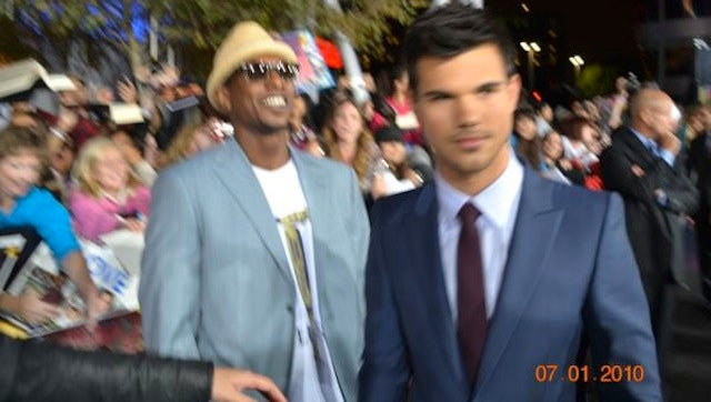 Nyjer Morgan Was On The Red Carpet For The L.A. Twilight Premiere Last Night