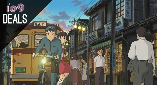 Welcome To io9 Deals: Studio Ghibli, Hunger Games, Audiobooks And More