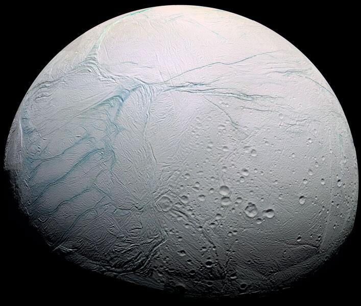 A Massive Lake of Water on One of Saturn's Moons Could Support Life