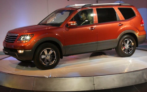 Detroit Auto Show: 2009 Kia Borrego officially unveiled