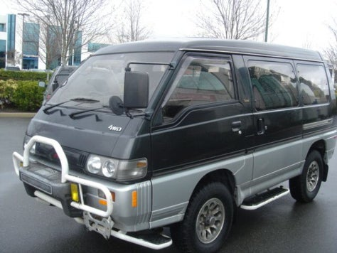 Now, More Than Ever: Mitsubishi Delica Exceed on eBay