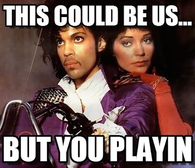 Prince's New Album Features a Song About #ThisCouldBeUsButYouPlayin