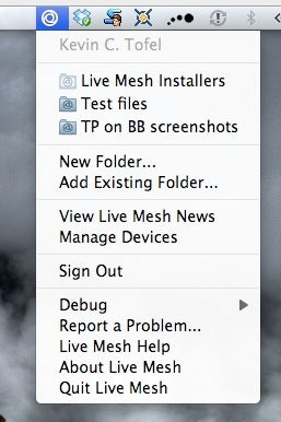Microsoft Live Mesh Client For Mac Leaked, Tested