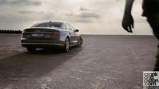 Audi A8 L. A sense of speed. Management Fleet
