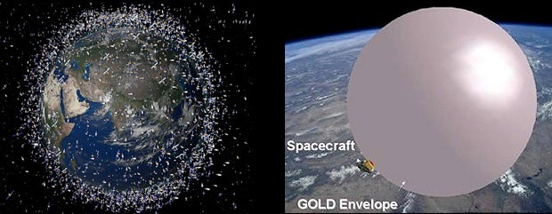 The Most Beautiful Way to Clean-Up Space Junk