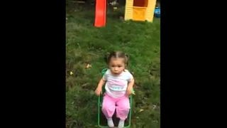 Toddler Surprised By Ice Bucket Challenge Swears Harder Than a Sailor