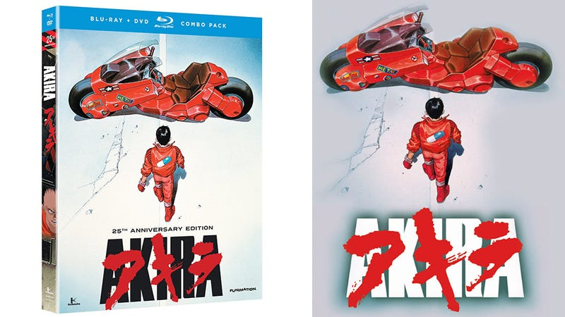 25th Anniversary Akira Hits Blu-ray On Tuesday