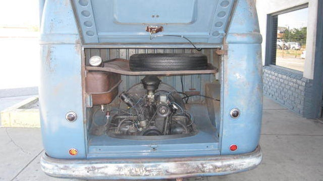 Rare 1955 Volkswagen Bus is the oldest of its kind