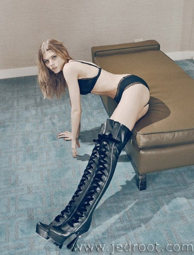 Thigh-High Boots Are The New Cyberpunk Hotness