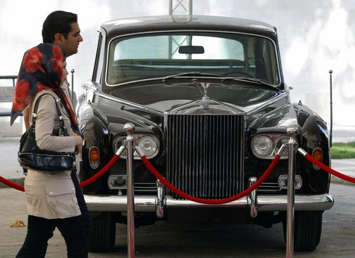 Iranian Car Show Displays Deposed Shah's Cars