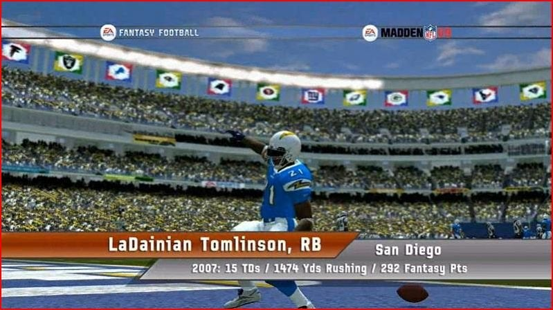 Play Your Fantasy Football Teams in Madden NFL 09 For a Fee