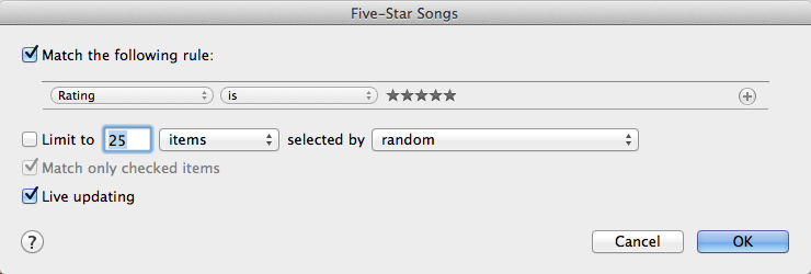 Taking iTunes Smart Playlists To The Next Level of Music Nerdery