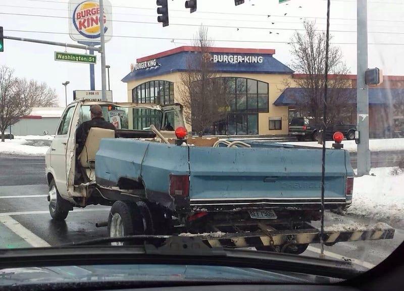 Dodgevrolet convertible van truck.