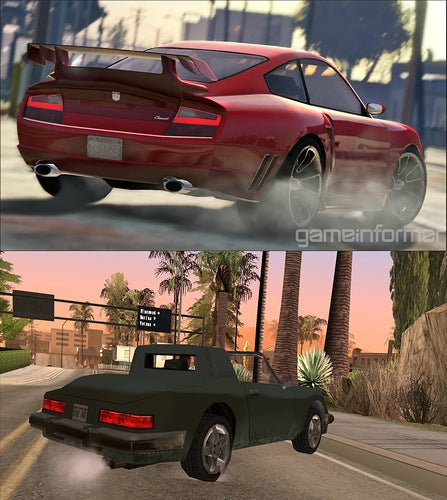 San Andreas (2004) vs San Andreas (2013), a Visual Comparison