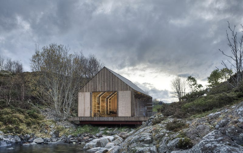 The Loveliest Boat House on the Fjord