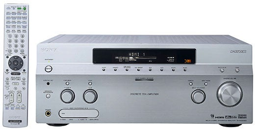 Sony TA-DA3200ES Receiver Brings Serious Power
