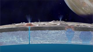 Así es el gigantesco océano subterráneo de Europa, la luna de Júpiter