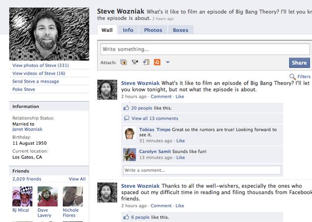 Steve Wozniak Will Appear On The Big Bang Theory