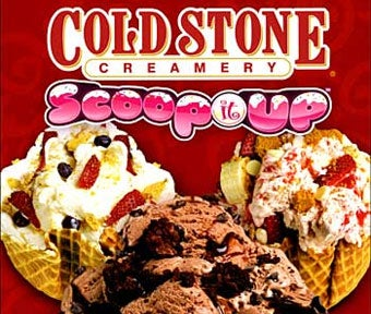Cold Stone Creamery: Scoop It Up So You Don't Have To