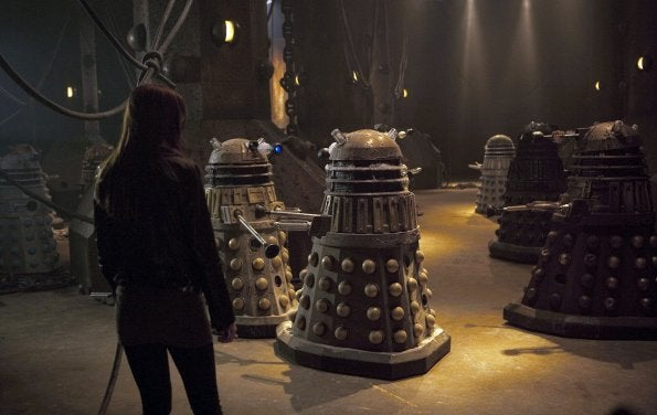 "Doctor Who - ""Asylum of the Daleks"" Promo Photos"