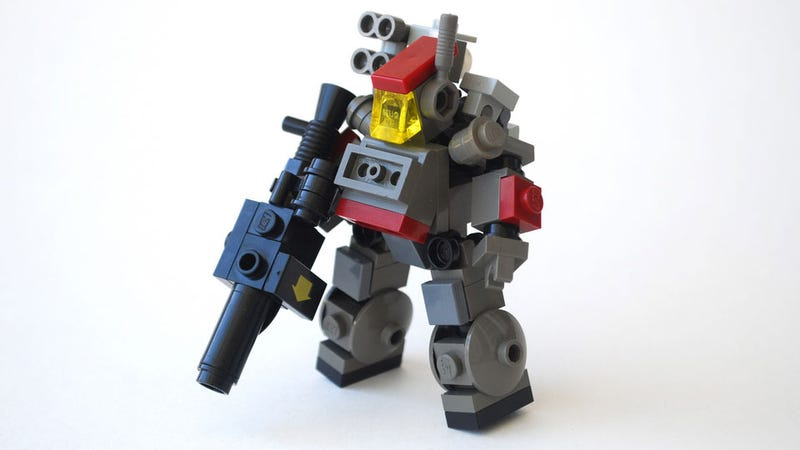 Turning LEGO Into a Kick-Ass War Game