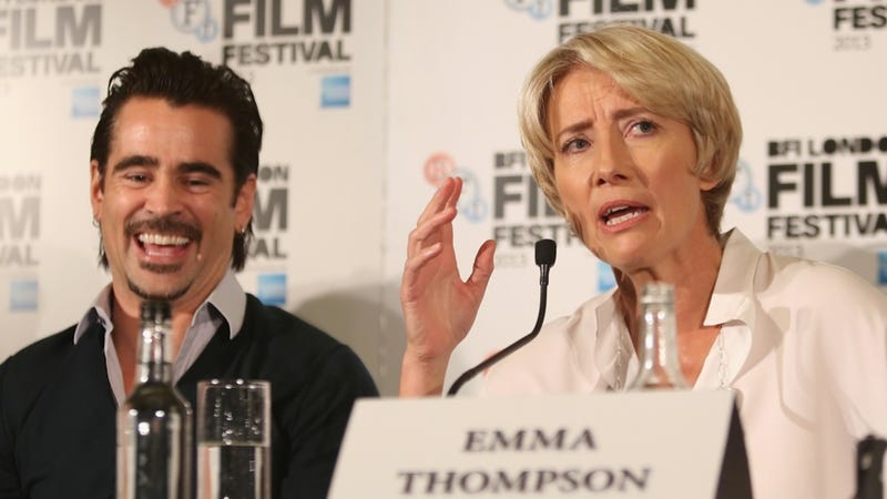 Colin Farrell Tests Out His Maniacal Laugh