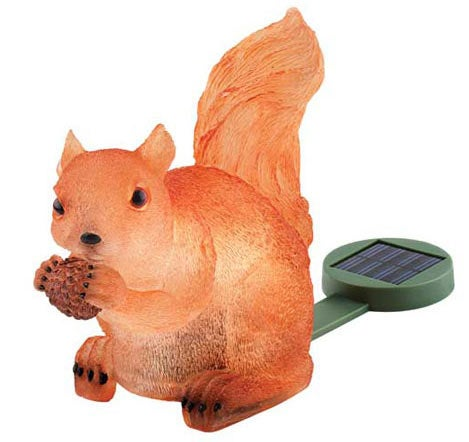 The Solar Squirrel Is a Mean, Green Glowing Machine