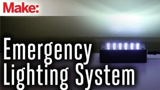 Build Your Own Automated Emergency Lighting System for Power Outages