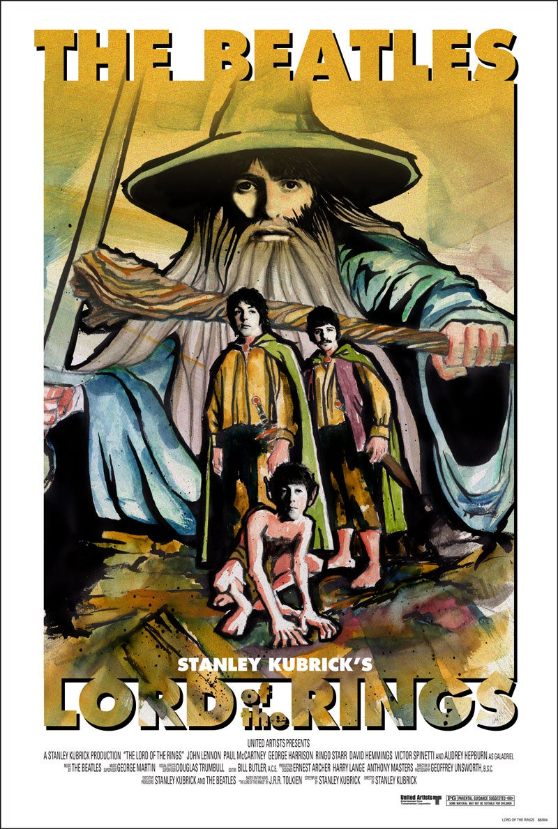 The Beatles' Lord of the Rings: A Stanley Kubrick Production