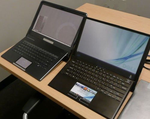 First Dell Adamo XPS Prototypes Had Multi-touch LCD TouchPads