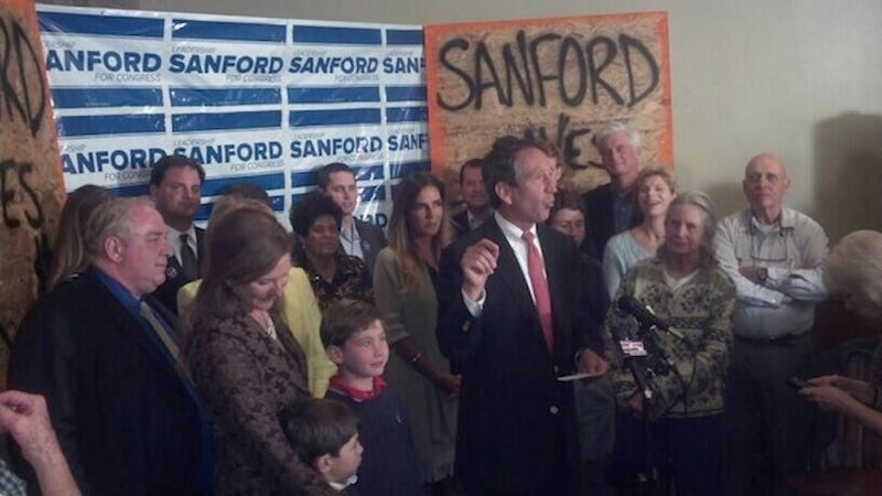 Disgraced Philanderer Mark Sanford Wins South Carolina Congress Seat