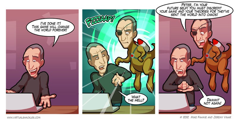 Sunday Comics: Mass Effect Retake