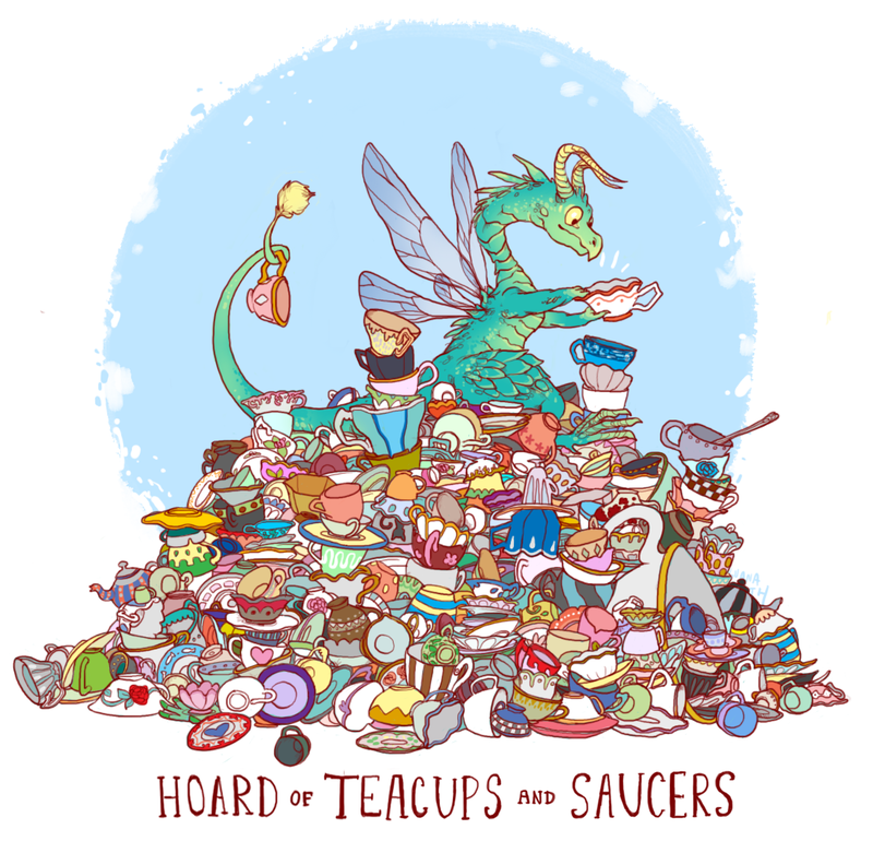 Meet The Dragons Who Hoard Cheese And Stuffed Animals Instead Of Gold