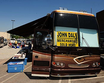 John Daly's Bus Does Not Fit In There