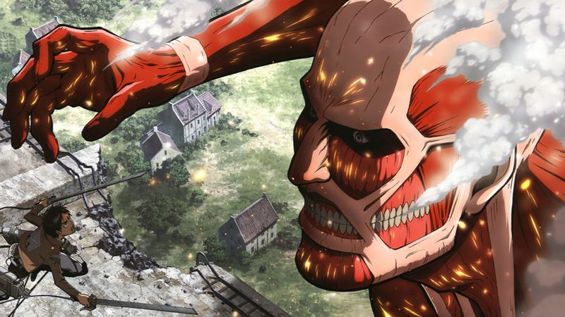 This is an Overdose of Attack on Titan Manga