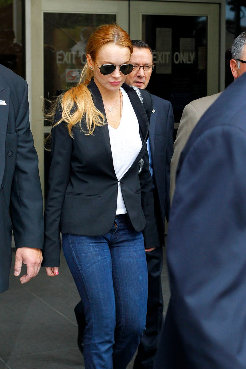 Lindsay Lohan Is Finally Running Out of Money
